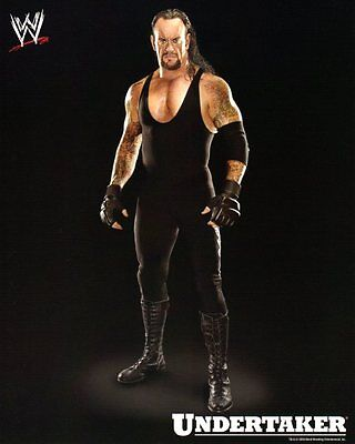 Wwe Photo The Undertaker Wrestling 8X10 Promo Picture Wrestlemania Legend