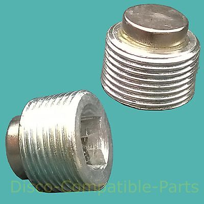 Land Rover Discovery 2 Magnetic Differential Drain Plugs x 2 FTC5208 By Bearmach