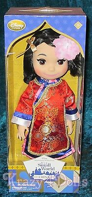 Disney Animators' Collection It's a Small World Singing China Doll NEW!