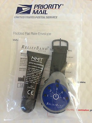 New Unused Relief Band (Reliefband) Explorer with Replaceable Battery RB-EL