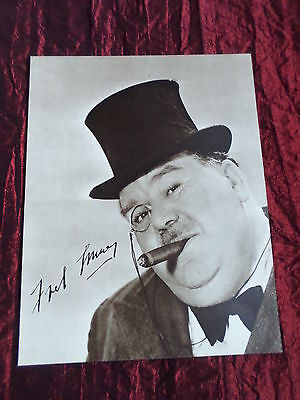 "Fred Emney - Tv/film Star - ""1 Page Picture "" - Clipping/cutting"