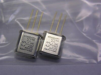 20 ECS 10.7MHz Matched Pair Monolithic Crystal Filters (10 Matched Pairs)