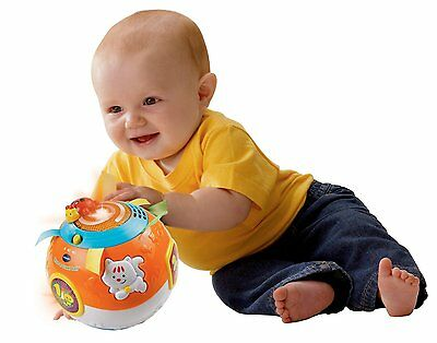 VTECH Move&Crawl Ball Toys Electronic Learning Baby Kids Light Animal Play Song