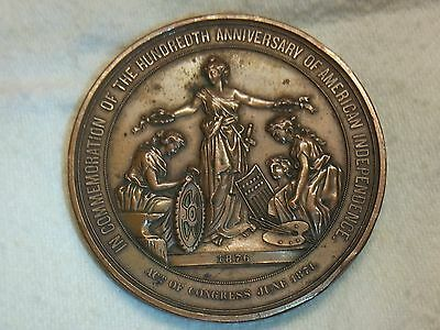 AMERICAN INDEPENDENCE 1776-1876 COMMEMORATION MEDAL.
