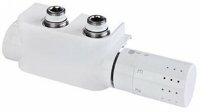 Simplex Design Thermostat Armatur Multiblock-Set F12013 weiss, rechts