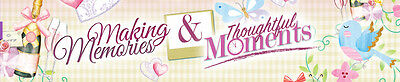 Hunkydory SPECIAL MOMENTS/THOUGHTFUL MEMORIES Luxury Card Collections