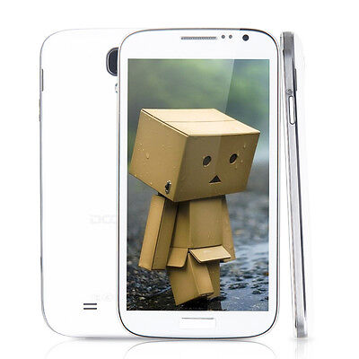 """Doogee DG300 5.0"""" Unlocked Dual Core Quad Band Android 4.2 4GB Smartphone White"""