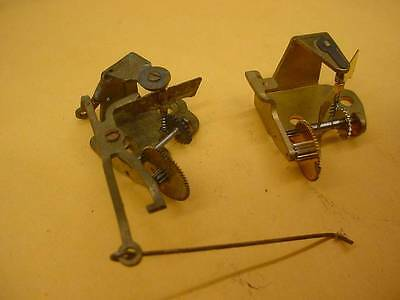 Vintage Set Of Brass Cuckoo Clock Music Movement Governor Gears Fly Wheel E248 A