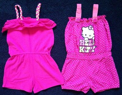 Girl's shorts jumper. Name brand: Hello Kitty, Children's place. sz. 5/6.