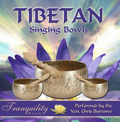 Tibetan Singing Bowls CD relaxation, meditation, therapy, music 5029344229224