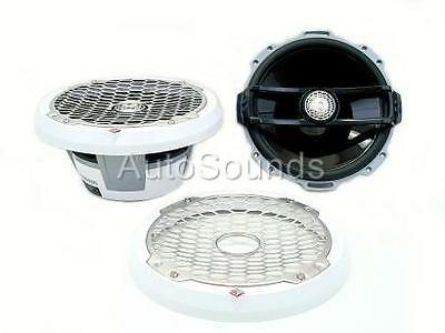 "Rockford Fosgate 400 Watts M282 8"" 2-Way Coaxial Marine Boat Speakers Woofer"