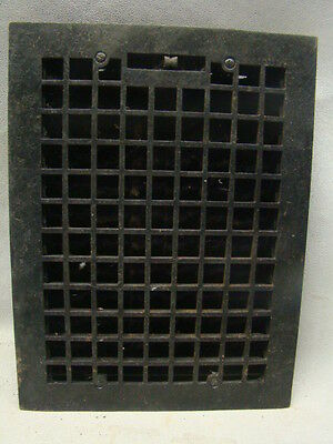 Vintage 1920S Cast Iron Heating Grate Square Design 15.75 X 12 C