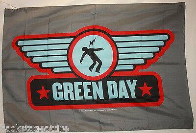 GREEN DAY WINGS LOGO Billy Armstrong Cloth Fabric Poster Flag Wall Banner-New!