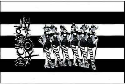 MY CHEMICAL ROMANCE DEATH CABARET Cloth Fabric Textile Poster Flag Banner-New!