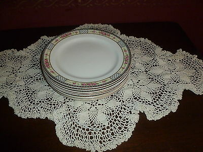 "8 W. H. Grindley China ""The Victory"" Salad Plates! Lovely!"