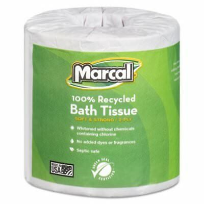 Marcal Standard 2-Ply Toilet Paper Rolls, 80 Rolls (MRC4580)