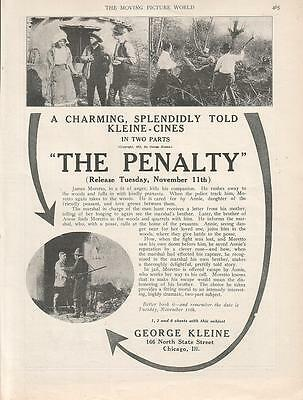 The Penalty 1913 Ad- George Kleine/charming