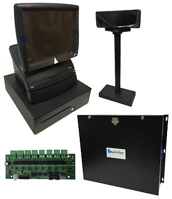 New Verifone RubyCI / Ruby2 Commander CI (with Forecourt, Drawer, & Display)