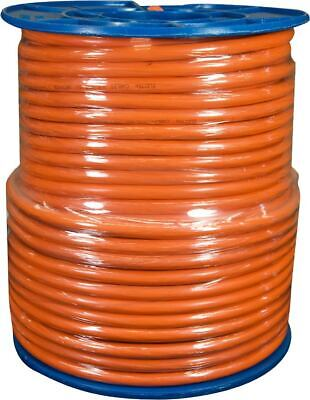 1.5mm 2 Core + Earth Orange Circular Electrical Cable 100mtr Roll NEW