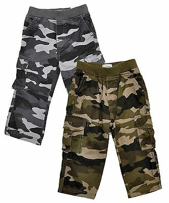 Boys Camouflage Combat Pants/ Trousers 6 months to 4 Years