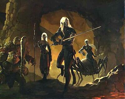 DUNGEON MASTERS SCREEN 4E QUAD-FOLD NM! Dungeons Dragons D&D Master's Master