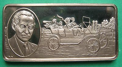 FORD MODEL T AND HENRY FORD BRONZE MEDAL