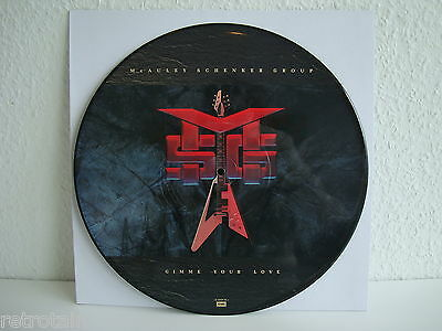 McAuley Schenker Group | Gimme your Love | Picture Disc | Emi 12-EMP-30  LP: VG+