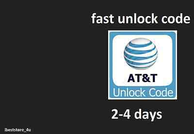 UNLOCK UNLOCKING CODE FOR HTC AT&T   Permanent Unlocking Code Pin Fast