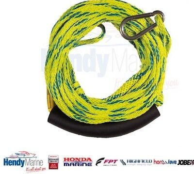 New! Jobe Sports International 2 Person Inflatable Tow Rope - With Hook