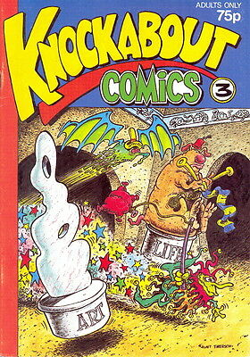 KNOCKABOUT No. 3 cover by Hunt Emerson