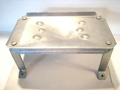 Pressing Iron Stand-Vintage NOS Aluminum Factory Steam Iron Stand  Great Item .