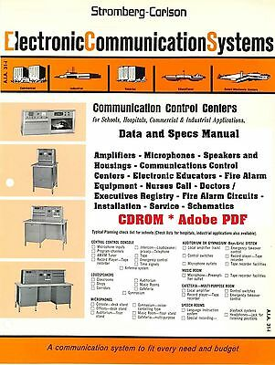 Stromberg-Carlson Data and Specs Manual * 1966 * PDF * CDROM