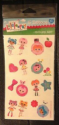 Lalaloopsy 16 Tattoos Birthday Party Supplies Favor NIP FREE S&H
