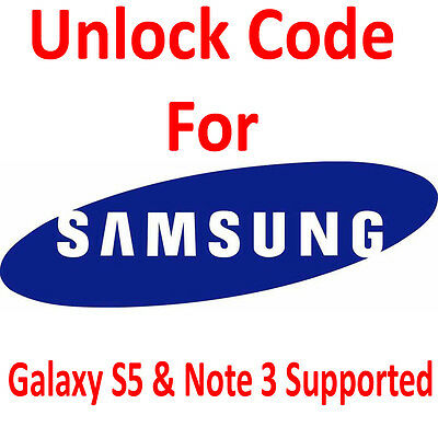 Unlock Code for AT&T T-Mobile Samsung Galaxy S5 S4 S3 S2 Note 4 3 2 1 Mega, Mini