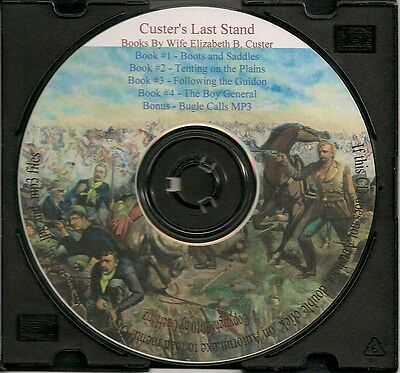 General George Custer's Last Stand - Three Volumes