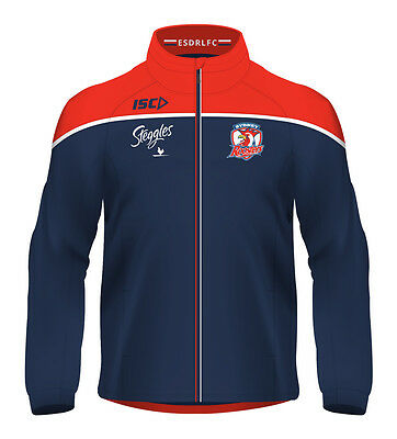 Sydney Roosters NRL ISC Players Wet Weather Jacket Sizes S-5XL! BNWT's!  5
