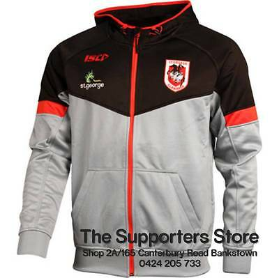 St George Illawarra Dragons NRL ISC Players Tech Hoody Sizes S-5XL! BNWT's!  5