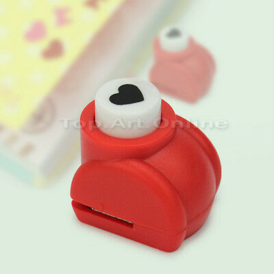 Medium Heart Shape Paper Hole Punch For Scrapbooking Card Making Quilling New