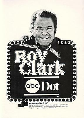 Roy Clark 1976 Ad- Jim Halsey Inc/ABC Dot