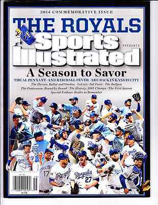 2014 Kansas City Royals American League Champs Sports Illustrated Commemorative