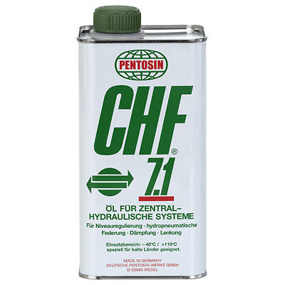 Pentosin CHF 7.1 Power Steering Mineral Oil-Based Hydraulic Fluid Older Cars 1L