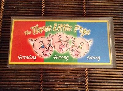 The Three 3 Little Pigs Nationwide Financial Insurance Plastic Savings Bank