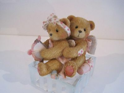 """Cherished Teddies: """"Aiming For Your Heart"""" Cupid Boy and Girl"""