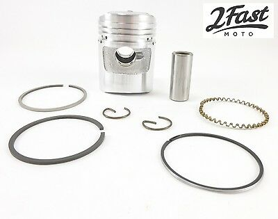 Honda Z50 50cc Monkey Bike Piston Kit Standard Domed Rings Pin Clips 2FastMoto
