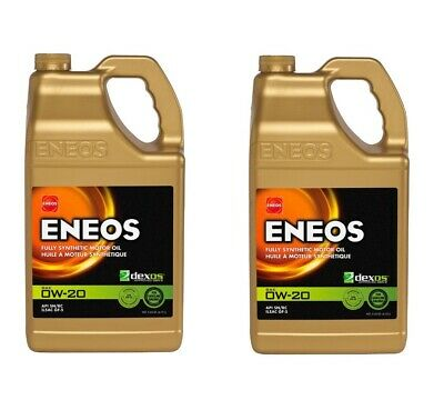 Eneos High Performance SAE 0W20 Full Synthetic Motor Oil 4.73L x2 Jugs