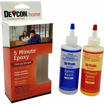 Itw Devcon 20945 S-209 9oz 5 Minute Fast Drying Epoxy
