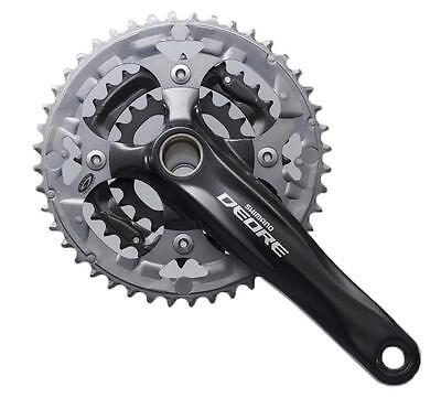 Shimano FC-M590 Deore Chainset Crankset Triple Chainring 9 Speed 44/32/22T 170mm