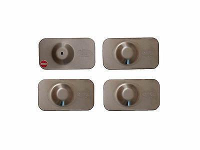 Armaplate Guardian 4 Door Lock 1 Keyhole Plates Ford Transit Connect (02-13)