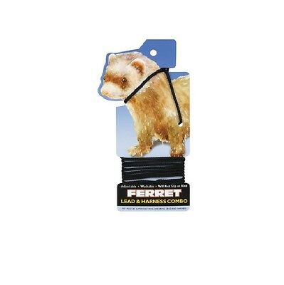 Ferret Harness - One piece harness & lead combo  adjusts to fit smaller bodies !