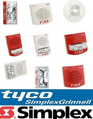 TYCO SIMPLEX Speakers / Strobes - CEILING & WALL *NEW* Fire Alarm (pick model)